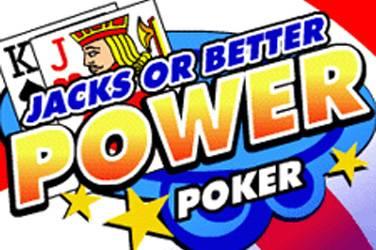 Jacks or better 4 play power poker cover