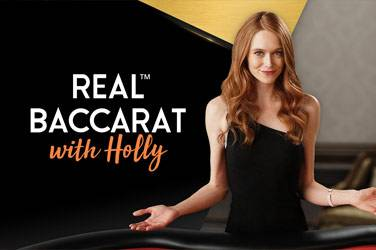 Real baccarat with holly