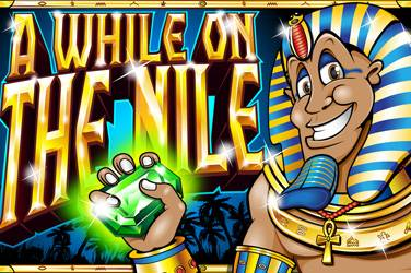 A while on the nile cover