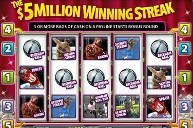 The 5 million winning streak
