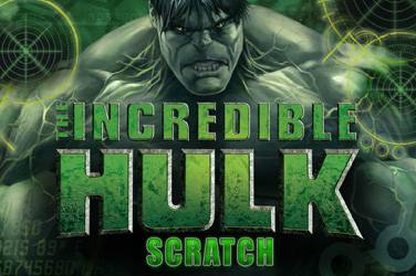 The incredible hulk scratch