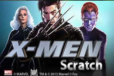X-men scratch