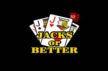 Jacks or better 52 hand