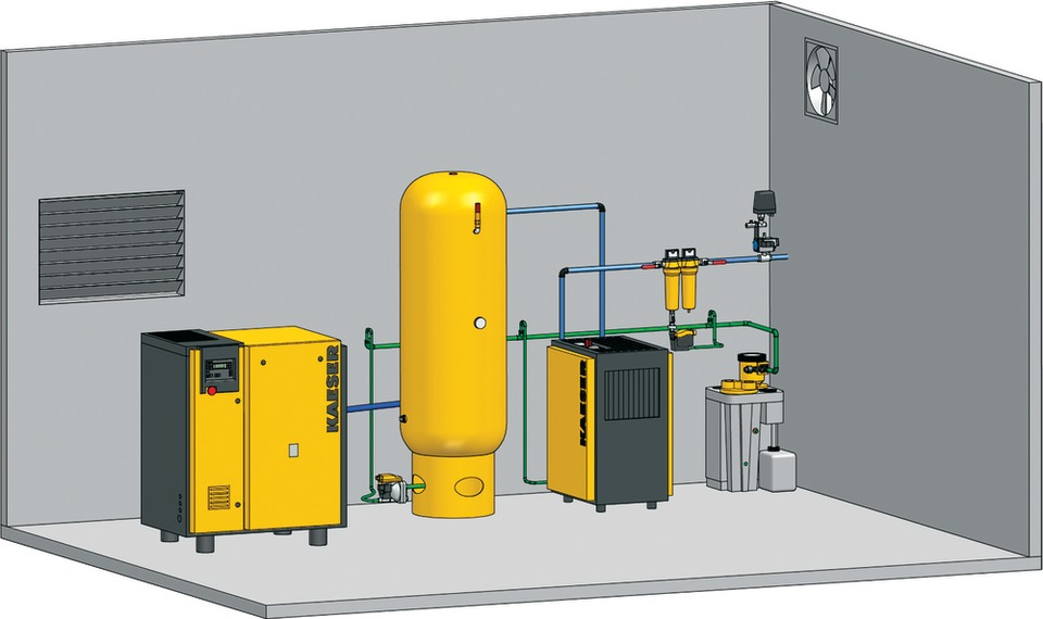 Compressor Piping Layout