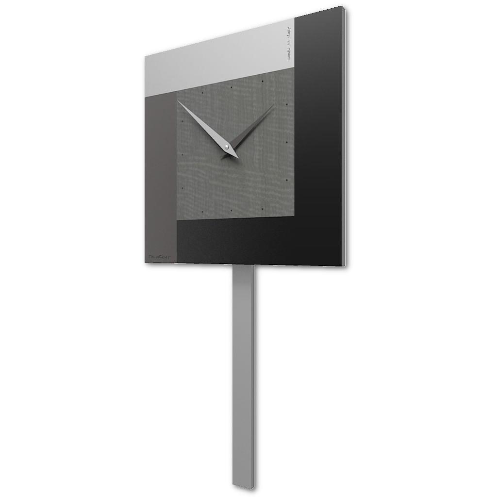 Orologi da parete ☆ arreda la tua casa con stile! Calleadesign Orologio A Pendolo Moderno Da Parete In Legno Collezione Pendulum In Vari Colori