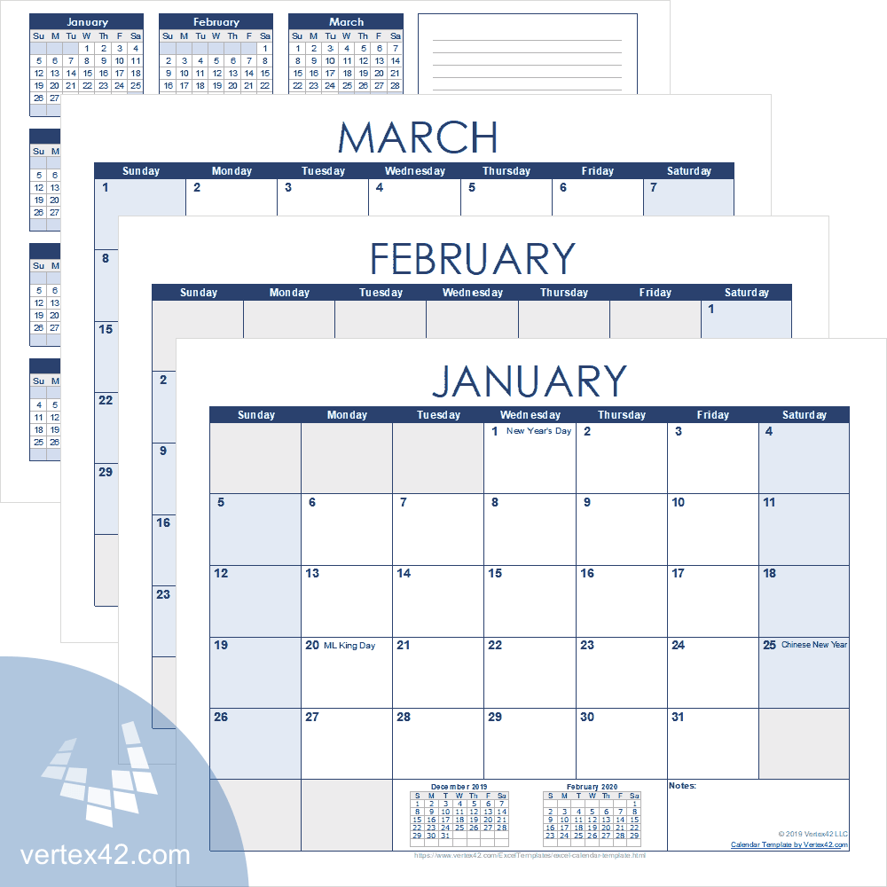 Microsoft has built its programs while making sure you can share information from one application to another seamlessly. Excel Calendar Template For 2021 And Beyond