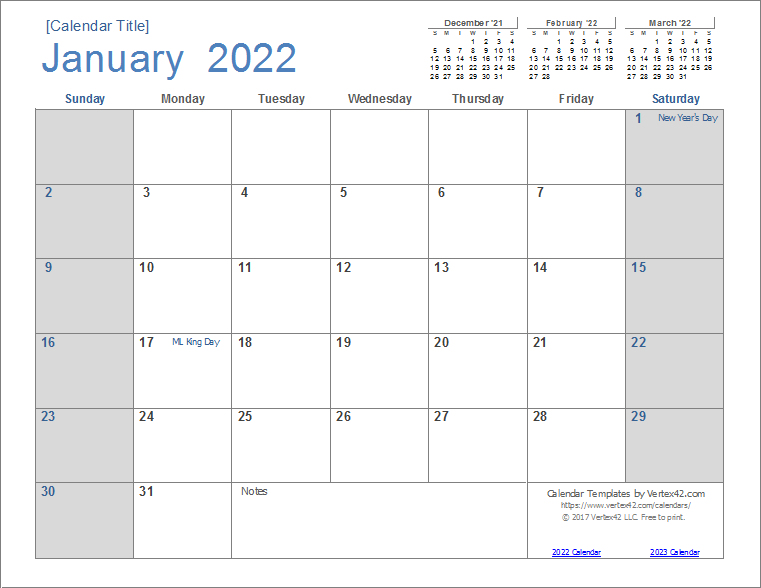 """One of the first things people do when they make the decision to """"get organized"""" is buy some kind of calendar. 2022 Calendar Templates and Images"""
