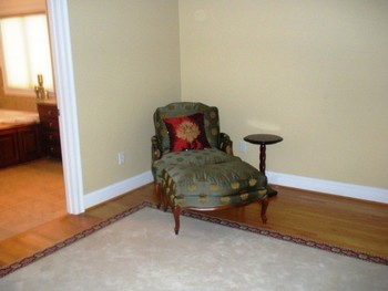 Masterbedroom, relaxing area