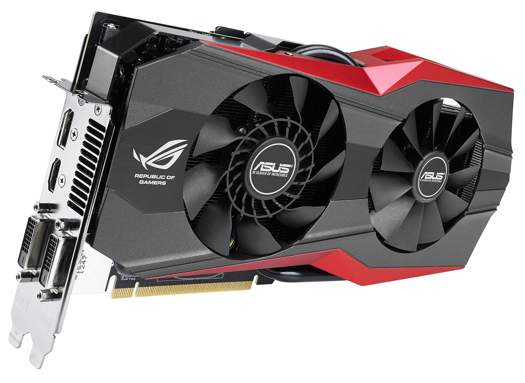 ASUS ROG MATRIX R9 290X And GTX 780 Ti Platinum Spotted