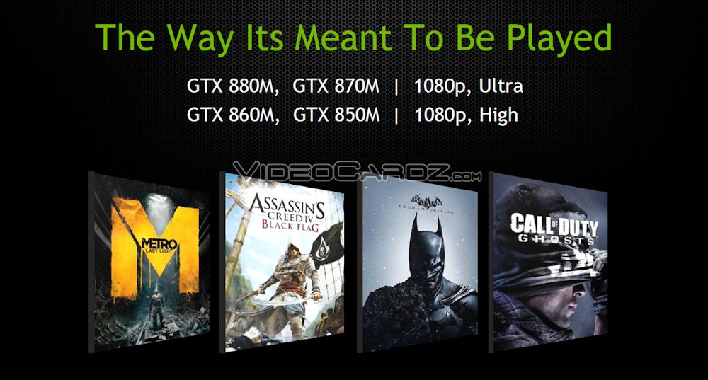 NVIDIA GeForce GTX 800M Series To Be Revealed At CeBIT