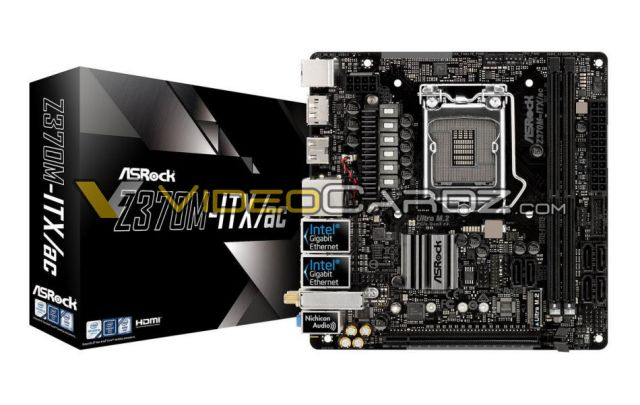 ASROCK Z370M ITX ASRocks army of the all new Z370 motherboards   LGA 1151 socket in full glory