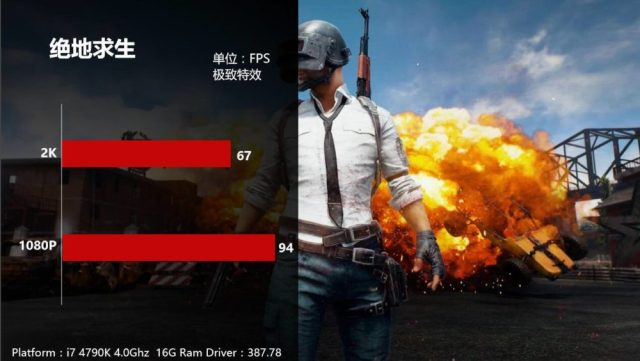 GTX1070Ti PUBG 1000x564 Nvidia GeForce GTX 1070 Ti will be having an overclocked performance