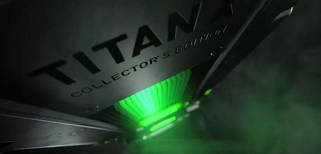 NVIDIA TITAN X Collectors Nvidia TITAN X Collectors Edition teased on YouTube The video shows the aggressive designing and color pattern of the graphics card
