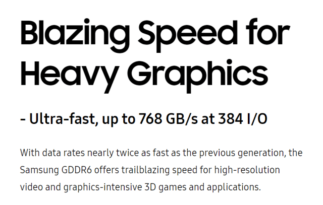 Samsung 16Gb GDDR6 SK Hynix Graphics Double Data Rate 6 (or GDDR6) out now! Intel and AMD might include it in their upcoming graphics chips!