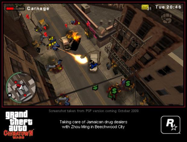 Grand Theft Auto Chinatown Wars Walkthrough DS PSP IPhone