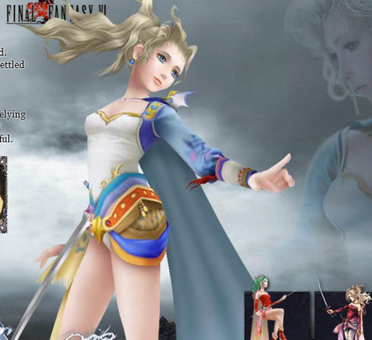Dissidia 012 Final Fantasy Characters List PSP