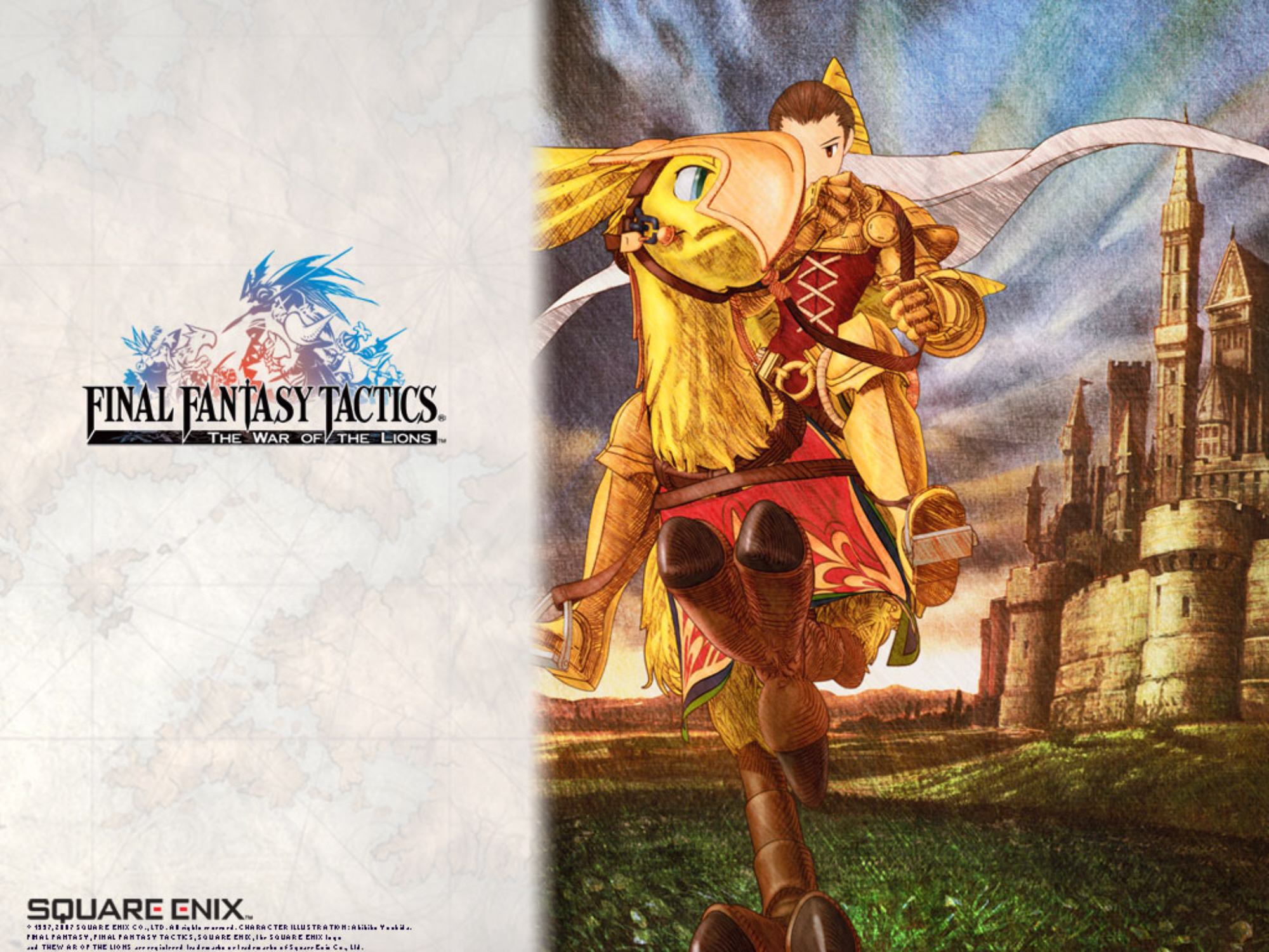 Final Fantasy Tactics IPhone War Of The Lions Announced Release Date Is June 2011