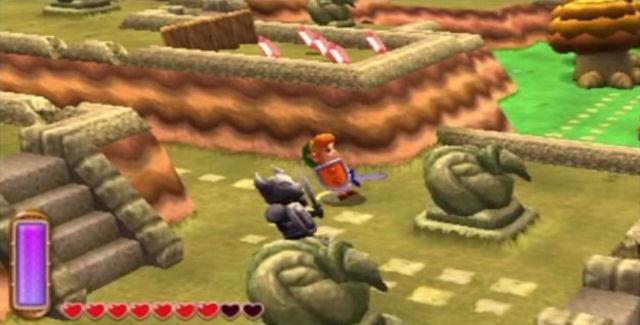 Zelda A Link Between Worlds Easter Eggs