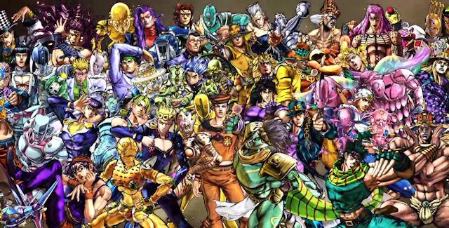 JoJos Bizarre Adventure All Star Battle Characters List