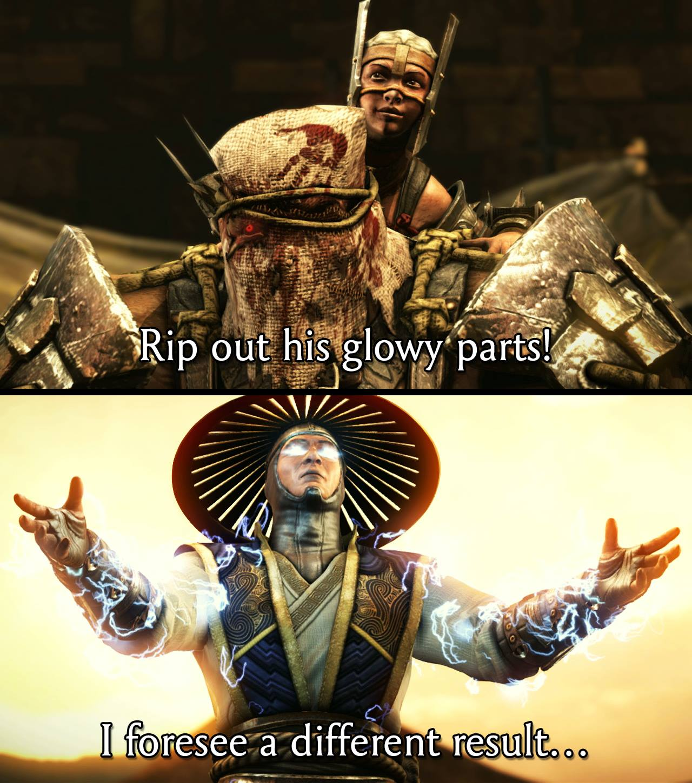 Mortal Kombat X Ferra Torr Vs Raiden Dialog Gameplay