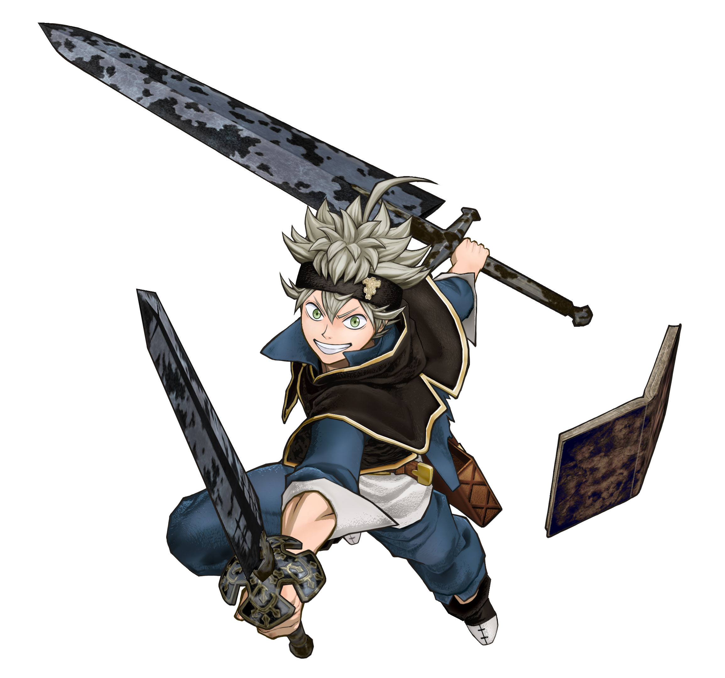 Thus he is truly one of the most strongest black clover characters till now. Black Clover Quartet Knights Character Render 1