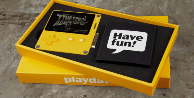 Playdate Handheld With A Crank Release Date