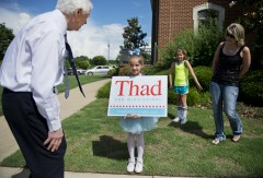 Thad Cochran Runs on Incumbency, Appropriations in GOP Primary