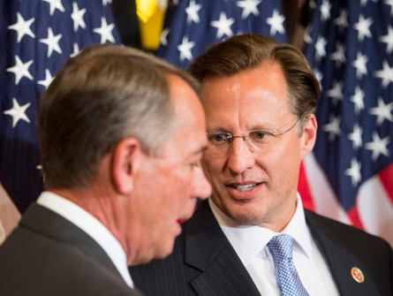 Brat is one of three Republicans whose district is most likely to change. (Bill Clark/CQ Roll Call File Photo)