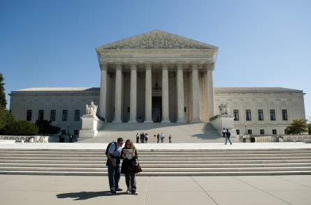 The Supreme Court will decide a redistricting case this month with implications for House members in 2016. (Bill Clark/CQ Roll Call File Photo)