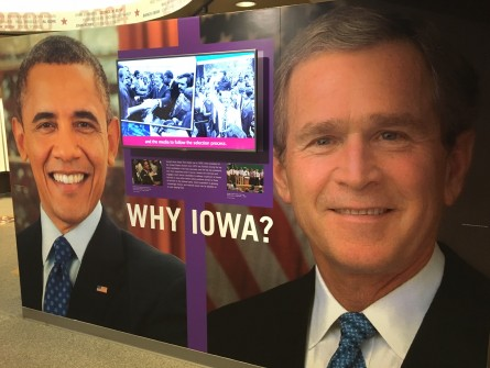 The Iowa State Historical Museum hosts six caucuses. (Jason Dick/CQ Roll Call)