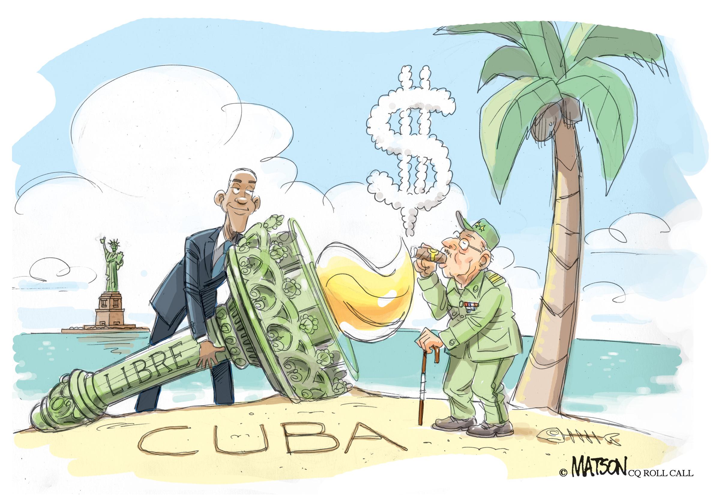 Obama Goes to Havana