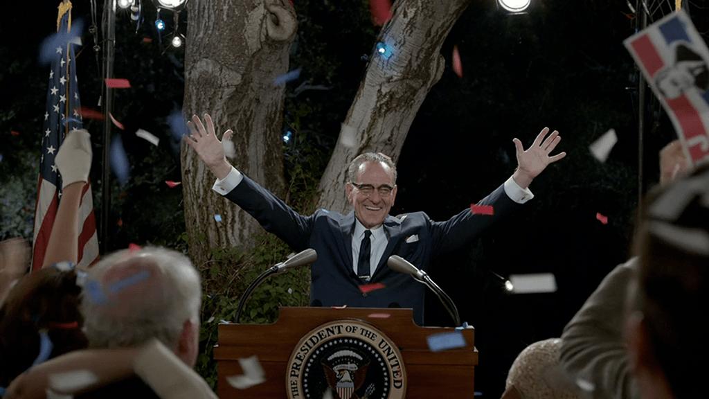 Bryan Cranston as President Lyndon B. Johnson in HBO's