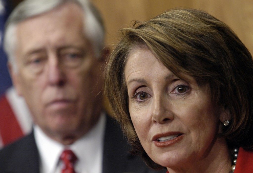 Rep. Nancy Pelosi, D-Ca., Minority Leader; and Rep. Steny Hoyer, D-Md. Roll Call File Photo
