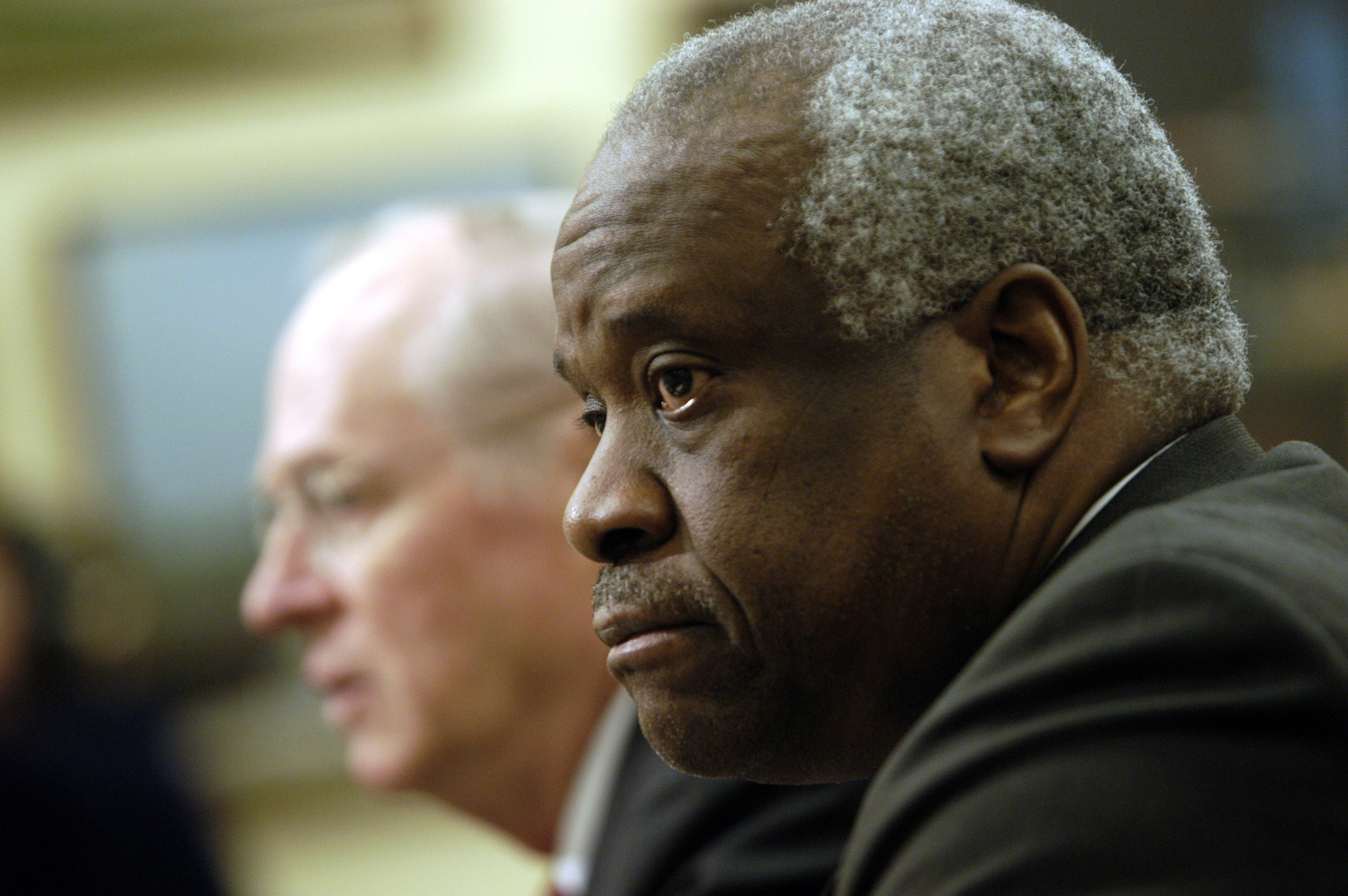 Supreme Court Justice Clarence Thomas in 2006. (CQ Roll Call file photo)