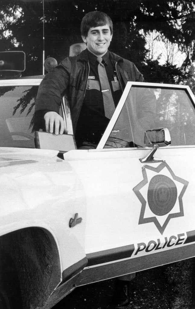 Rep. Dave Reichert joined the King County Sheriff's Office in 1972. (Courtesy Rep. Dave Reichert)
