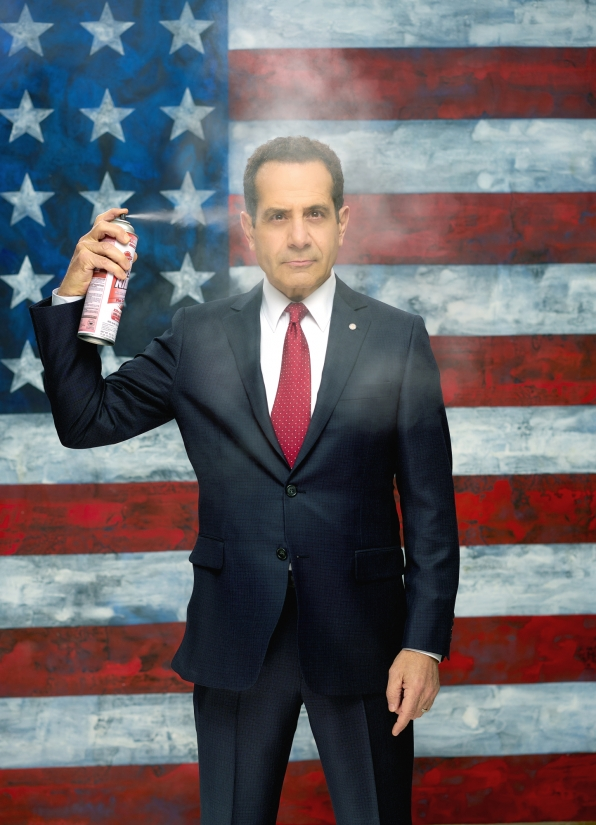 Tony Shalhoub as Sen. Red Wheatus on CBS' BrainDead (Courtesy BrainDead/<a href=