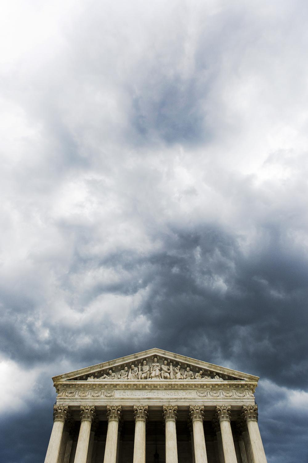 Storm Clouds Washington DC