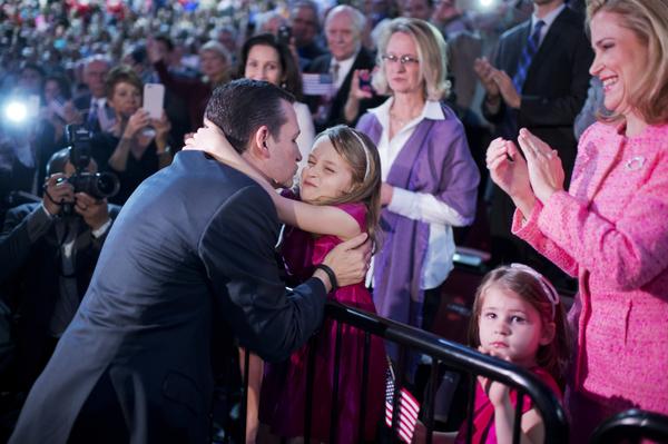 Ted and Heidi Cruz with kids