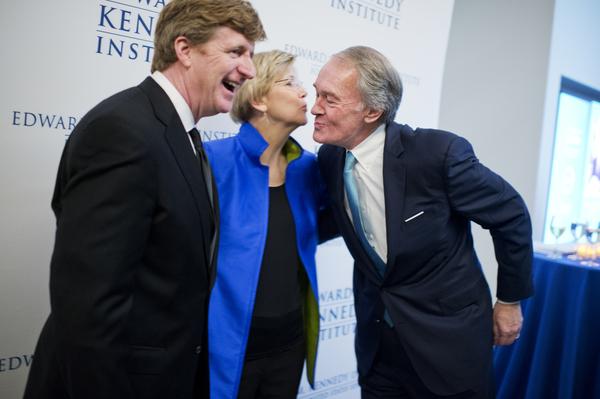 Patrick Kennedy Elizabeth Warren