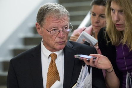 inhofe 029 060314 445x298 Oklahoma Republicans to Obama: No More Child Migrants at Fort Sill