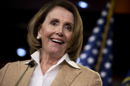 Pelosi and the Democrats forced Republicans to retreat Thursday. (Tom Williams/CQ Roll Call File Photo)