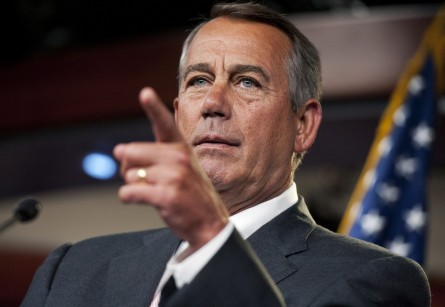 boehner013 071014 445x307 Boehners Bet: Lawsuit Will Quiet Impeachment Calls