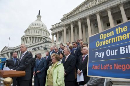 Dems Shutdown 7 100913 445x295 Shutdown as Campaign Issue? That Was So Last Year