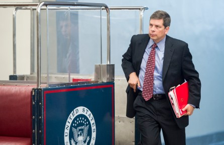 Begich was able to deflect campaign attack ads stemming from the vote-a-rama. (Bill Clark/CQ Roll Call File Photo)