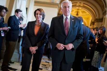 Hoyer has been a Pelosi lieutenant for years. Will his wait-it-out strategy pay off? (Tom Williams/CQ Roll Call)