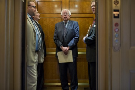 The Sanders 2016 bid is Democratic in just one way. (Tom Williams/CQ Roll Call)