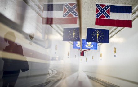 Debate over Confederate imagery abounds, but not so much on guns and voting rights. (Bill Clark/CQ Roll Call File Photo)