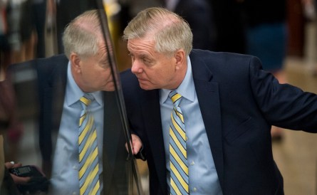 Graham recently received a campaign check from Trump. (Bill Clark/CQ Roll Call File Photo)
