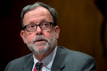 CBO Director Keith Hall won't be testifying this week, as planned, about the rising budget deficit. (Photo By Tom Williams/CQ Roll Call)