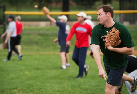 If Murphy loses his Senate bid, he would no longer play in the Roll Call Congressional Baseball Game. (Tom Williams/CQ Roll Call File Photo)